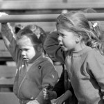 Gwynne and Sarah, fall of '81