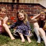 Sarah, Gwynne and Gillian