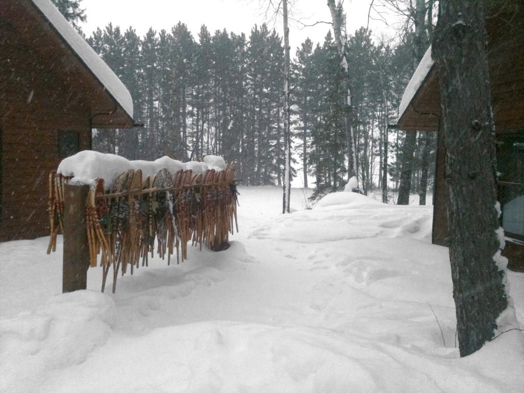 Snowshoe Rack