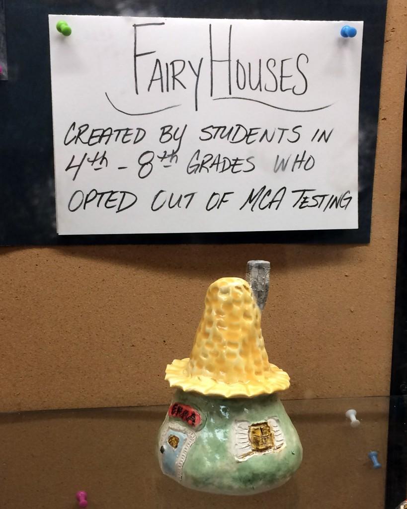Fairy Houses Label
