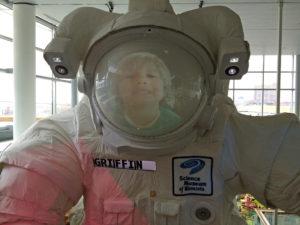 Future space scientist.