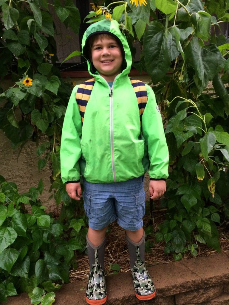 20160906 First Day of 2nd Grade